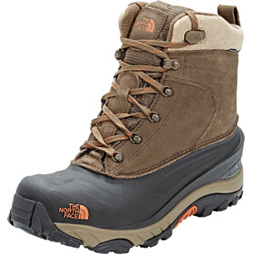 The North Face Chilkat III Boots Men Mudpack Brown/Bombay Orange